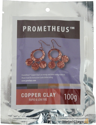Picture of Prometheus Copper Clay 100g