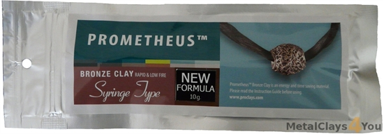 Picture of Prometheus Bronze Clay 10g Syringe with 3tips