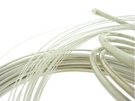 Picture of 999 Fine Silver Rnd Wire 0.8mm x 1m