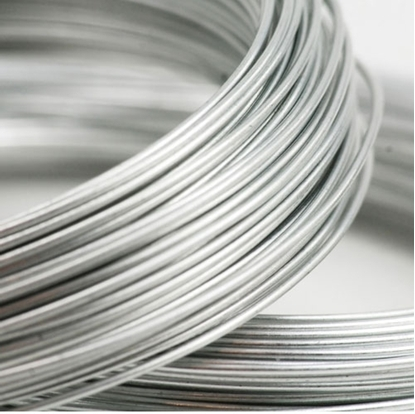 Picture of 935 Argentium Silver Rnd Wire  (Half Hard) 0.33mm x 5m