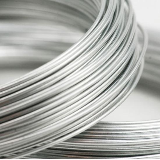 Picture of 935 Argentium Silver Rnd Wire  (Half Hard) 0.33mm x 5m
