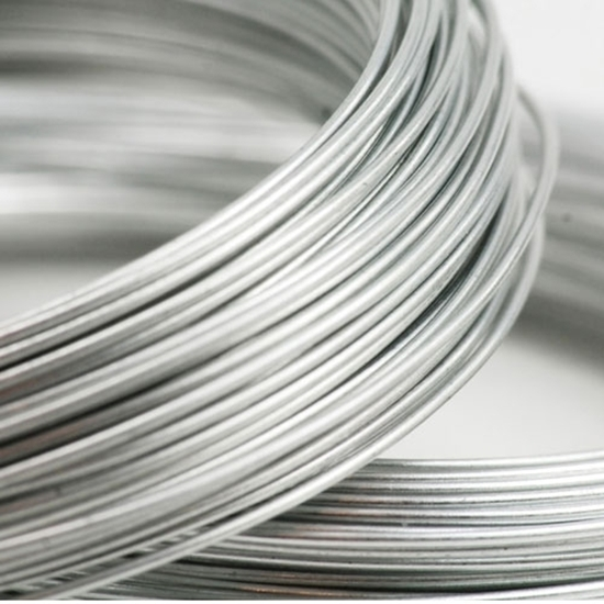 Picture of 935 Argentium Silver Rnd Wire (Half Hard) 0.64mm x 5m
