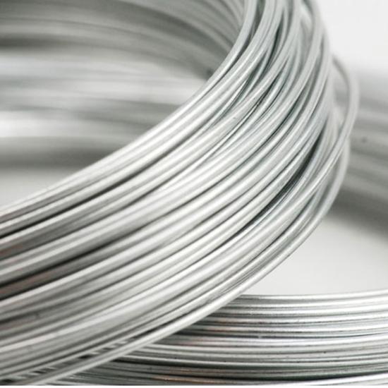 Picture of 935 Argentium Silver Rnd Wire (Half Hard) 1.0mm x 1m