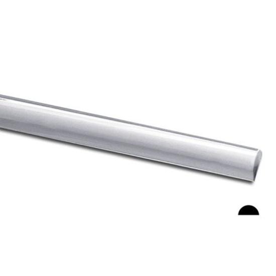 Picture of 925 Sterling Silver Half Round (Half Hard) Wire 20ga x 5m