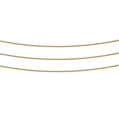 Picture of Brass Solder wire 0.8mm x 1m