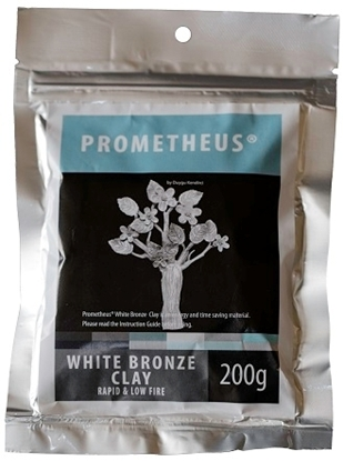 Picture of Prometheus White Bronze Clay 200g