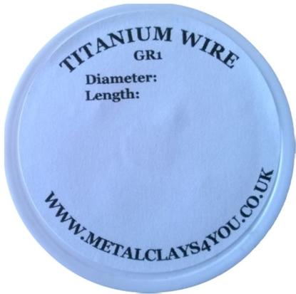 Picture of Grade-1 Titanium Round Wire 0.5mm x 30m (Soft)