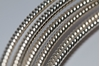 Picture of 925 Sterling Silver Rnd Pattern Twist Wire 2.59mm x 25cm