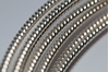 Picture of 925 Sterling Silver Rnd Pattern Twist Wire 3.25mm x 25cm
