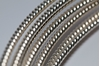 Picture of 925 Sterling Silver Rnd Pattern Twist Wire 4.12mm x 25cm