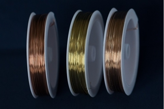 Picture of Unplated Craft Wires Bundle 0.6mm x 25m (spool)