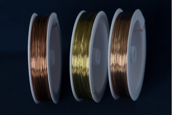 Picture of Unplated Craft Wires Bundle 0.8mm x 15m (spool)