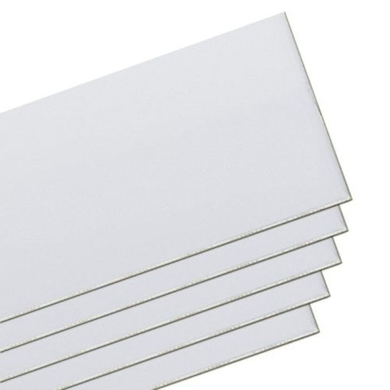 """Picture of 999 Silver Sheet 6""""x3"""" (Soft) 0.79mm"""