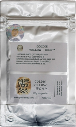 Picture of Goldie Yellow Iron 100g