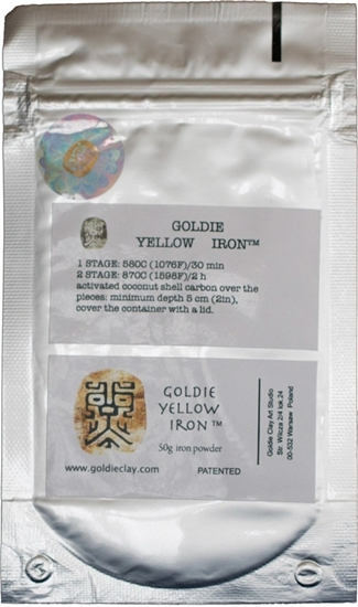 Picture of Goldie Yellow Iron 50g
