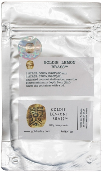 Picture of Goldie Lemon Brass 100g