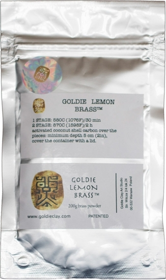 Picture of Goldie Lemon Brass 200g