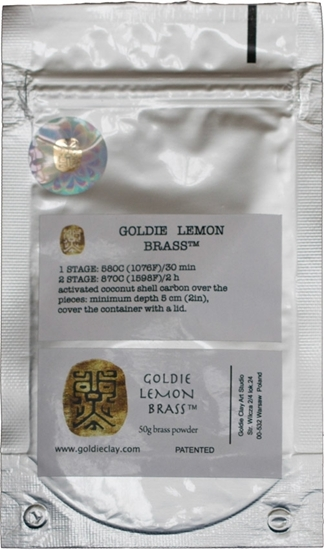 Picture of Goldie Lemon Brass 50g