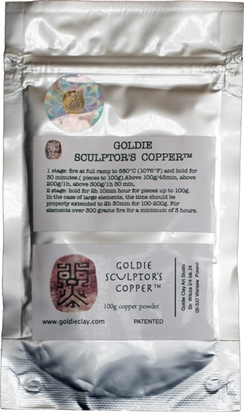 Picture of Goldie  Sculptor's Copper 100g
