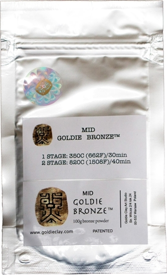 Picture of Goldie Bronze Mid 100g