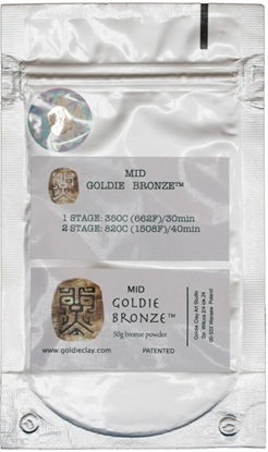 Picture of Goldie Bronze Mid 50g