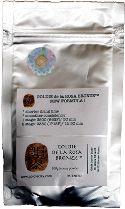 Picture of Goldie de la Rosa Bronze 100g