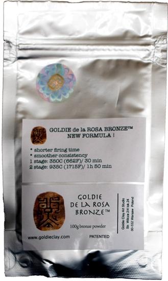 Picture of Goldie de la Rosa Bronze 100g