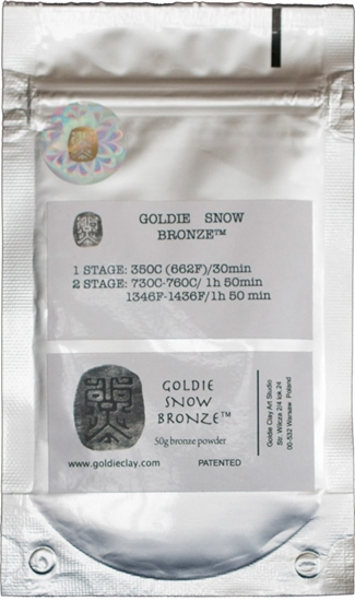 Picture of Goldie Snow Bronze 50g