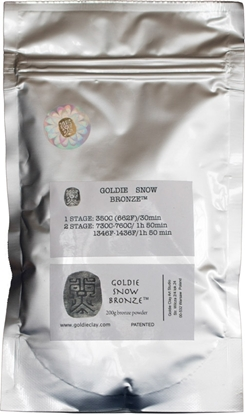 Picture of Goldie Snow Bronze 200g
