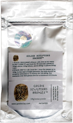 Picture of Goldie Sculptor's Bronze 100g