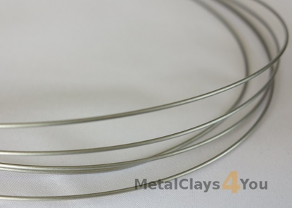 Picture of Grade-1 Titanium Round Wire 2.0mm x 1m (Half Hard)