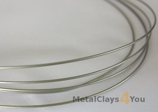 Picture of Grade-1 Titanium Round Wire 2.0mm x 1m (Half Hard)