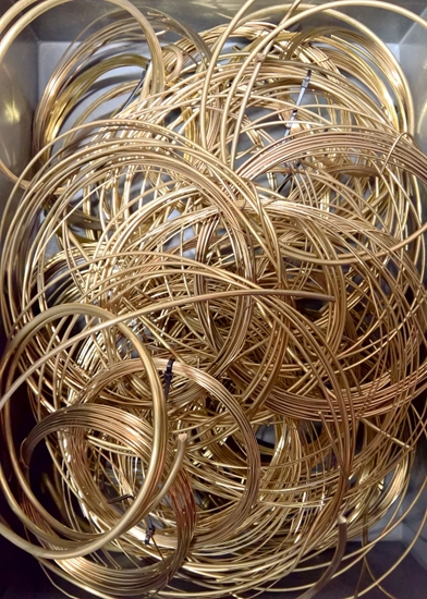 Picture of Wire Scrap - Brass 1kg