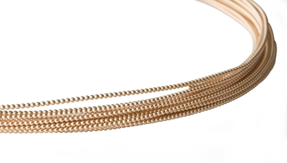 Picture of 14/20 Yellow Gold-Filled Full-Bead Wire 1.9mm x 100cm
