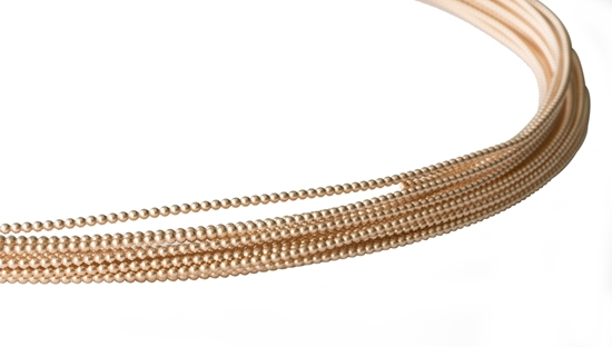 Picture of 14/20 Yellow Gold-Filled Full-Bead Wire 2.3mm x 50cm