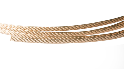 Picture of 14/20 Yellow Gold-Filled Pattern Wire (Soft) 5.33mm x 25cm