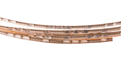 Picture of 14/20 Yellow Gold-Filled Pattern Wire (Soft) 3.81mm x 25cm