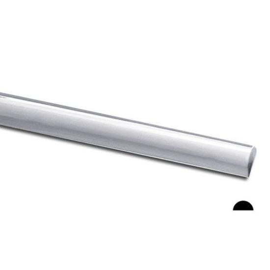 Picture of 925 Sterling Silver Half Round Wire 24ga x 5m
