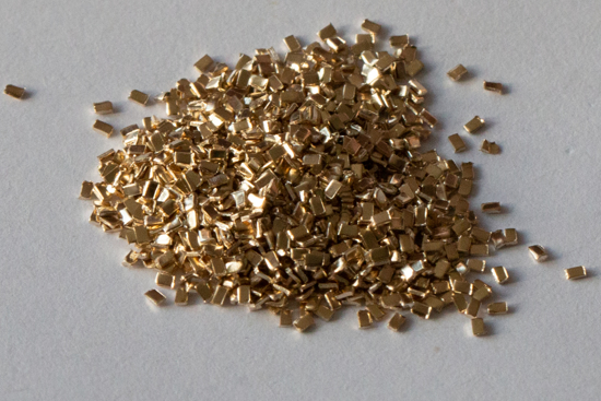 Picture of Yellow Solder Chip for Gold-Filled materials x 5g