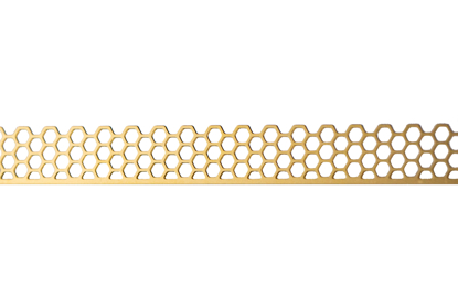 Picture of Brass Honeycomb Decorative Bezel Wire