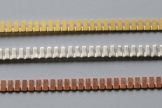 Picture of Castillated Decorative Bezel Wires (Set of 3 metals)