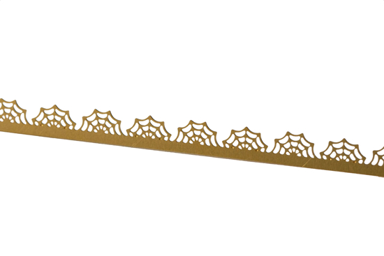 Picture of Brass Spider Web Decorative Bezel Wire