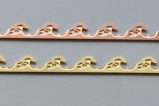 Picture of Waves Bezel Wires (Set of 2 metals)