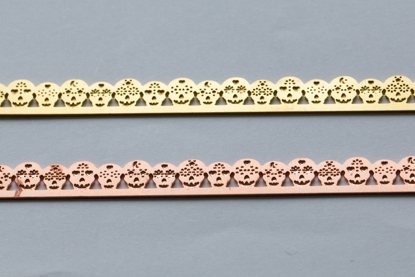 Picture of Sugar Skulls Bezel Wires (Set of 2 metals)