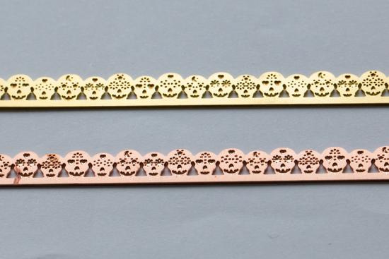 Picture of Sugar Skulls Bezel Wires (Set of 2 metals)
