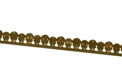 Picture of Brass Sugar Skulls  Decorative Bezel Wire