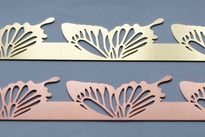 Picture of Butterfly wings cutouts overlay pattern (Set of 2 metals)