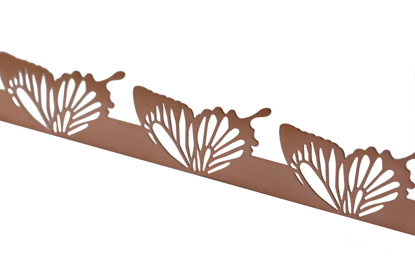 Picture of Copper Butterfly wings cutouts overlay pattern