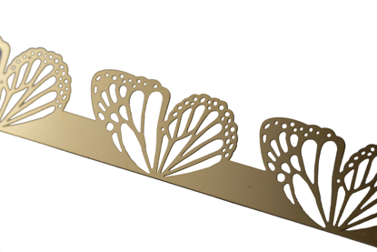 Picture of Brass Swallowtail wings cutouts overlay pattern