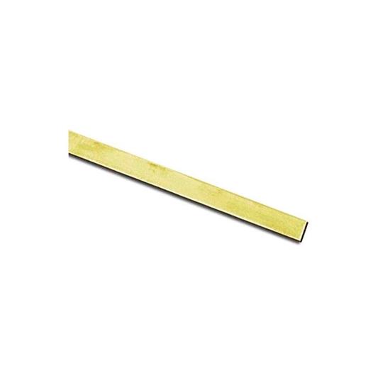 "Picture of Brass Bezel Strip (28ga x 3/16"") x 100cm"